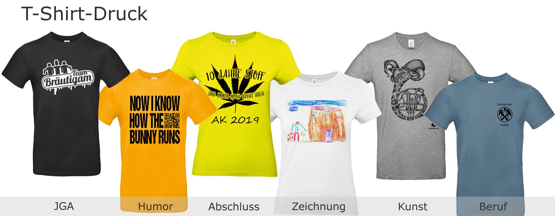Foto T-Shirt-Druck